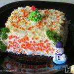 Салат с консервированным тунцом рисом и яйцом – рецепт с фото пошагово