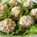 Салат из печени трески консервированной с рисом и яйцами – рецепт