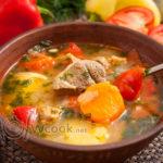 Как приготовить шурпу из баранины – пошаговый классический рецепт супа