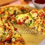 Как приготовить быструю пиццу на кефире в духовке — рецепт без дрожжей
