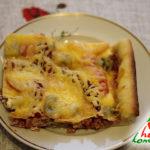 Как приготовить вкусную домашнюю пиццу в духовке – рецепт с курицей
