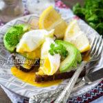 Бутерброды с авокадо и яйцом пашот на завтрак