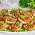 Бутерброды со шпротами в духовке - рецепт