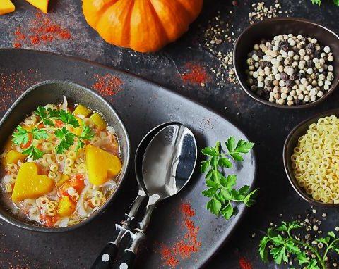 Куриный суп с тыквой - вкусный рецепт с пошаговым фото