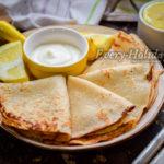 Лимонные блинчики с йогуртом – настоящий французский завтрак