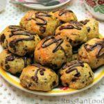 Мягкое печенье с шоколадом и апельсиновой цедрой