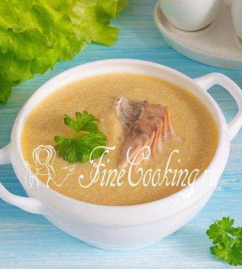 Рыбный суп-пюре из горбуши - рецепт