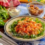 Салат Ералаш – нарядный и очень вкусный