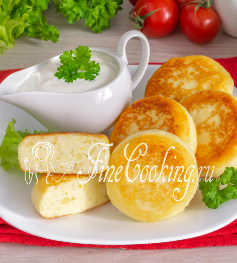 Сырники с картошкой - рецепт
