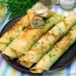 Картофельные блинчики с сырной начинкой