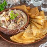 Мачанка (мочанка) с блинами - рецепт