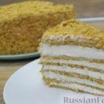 """Медовый торт """"Кокетка"""" со сливочно-сырным кремом"""