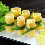 Сырные стаканчики на праздничный стол – просто и эффектно
