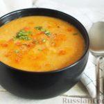 Чечевичный суп-пюре с томатной пастой