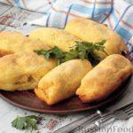 Картофельные рулетики с мясным фаршем (в духовке)