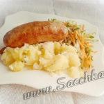 Колбаски в черевах - рецепт с фото