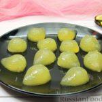 Лимонные желейные конфеты
