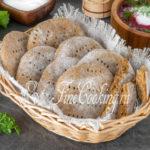 Ржаные лепешки на кефире без дрожжей в духовке - рецепт