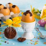 Шоколадные кексы на Пасху - рецепт