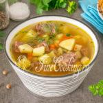 Суп с тушенкой - рецепт