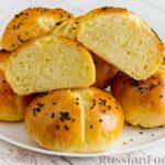 Дрожжевые булочки из картофельного теста