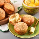 Постные дрожжевые булочки из картофельного теста