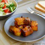 Свиные рёбрышки в апельсиновом маринаде (в духовке)