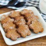 Медово-ржаное печенье