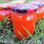 Овощной соус для макарон (на зиму)