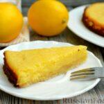 Песочный тарт со сливочно-лимонным муссом