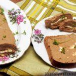 Паштет из печени индейки с салом и сливочным маслом