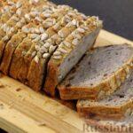Безглютеновый хлеб из зелёной гречки