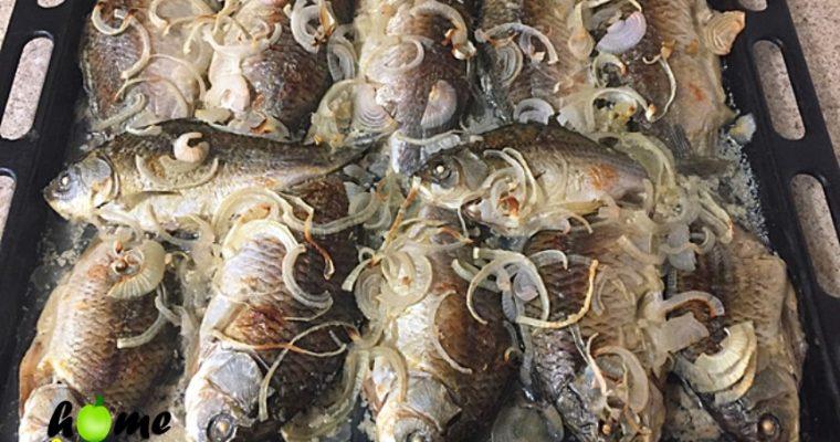 Запеченные Караси в сметане в духовке – пошаговый рецепт с фото