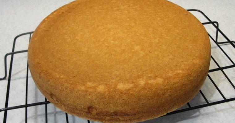 Классический Бисквит для торта в духовке – рецепт с фото пошагово