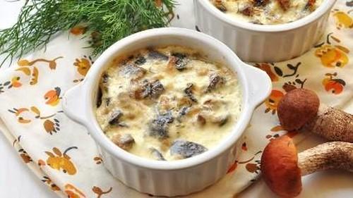 Классический Жульен с грибами и курицей – рецепт с фото в духовке