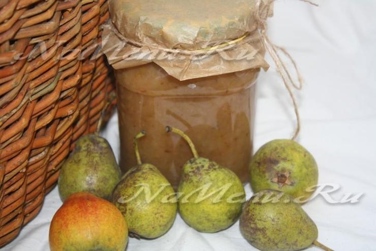 Вкусное повидло из груш на зиму – простой рецепт в домашних условиях