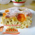 Быстрый пирог с яблоками и абрикосами в духовке – фото рецепт пошагово