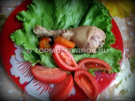 Тушеная курица с овощами в мультиварке – пошаговый рецепт с фото