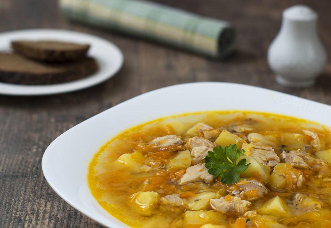 Вкусный Рыбный суп из консервов – рецепт блюда из рыбы с фото пошагово