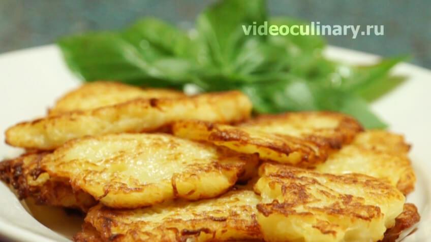 Вкусные картофельные оладьи на молоке – пошаговый рецепт с фото
