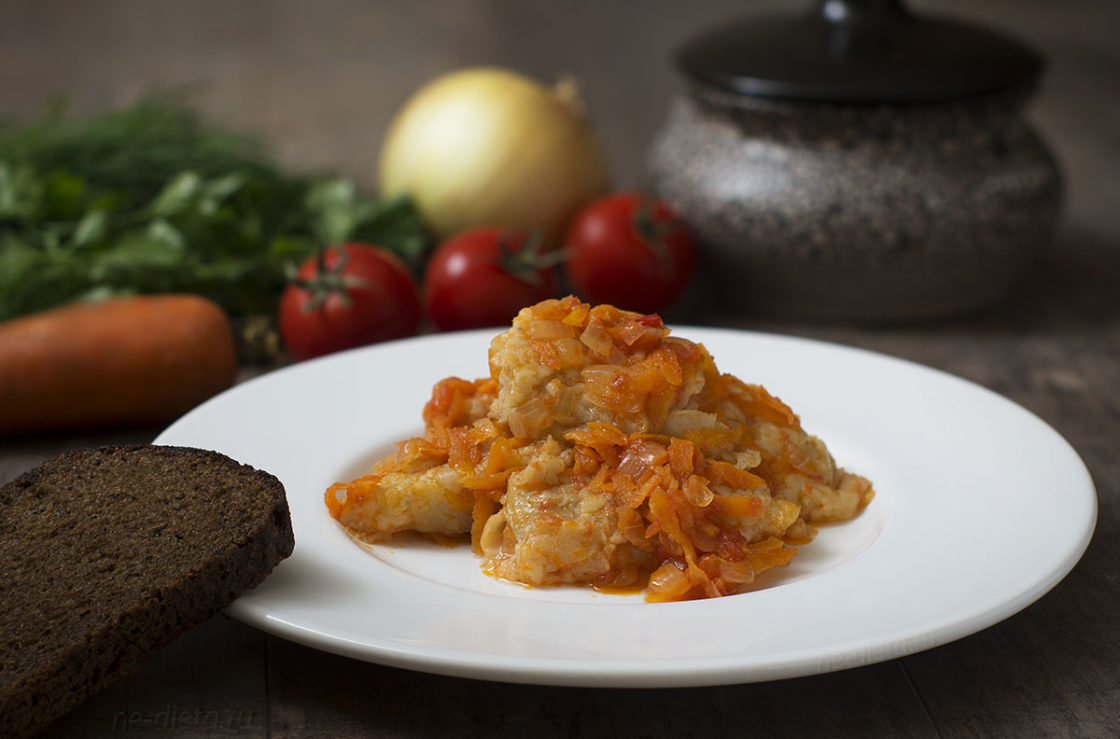 Как приготовить жареную рыбу под маринадом из моркови и лука – рецепт