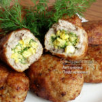 Как приготовить мясные зразы из фарша с яйцом и зеленым луком – рецепт