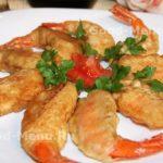Как приготовить жареные креветки в кляре на закуску – пошаговый рецепт