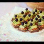 Канапе из семги с авокадо и огурцом – рецепт легкой закуски с видео