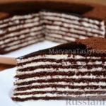 Шоколадно-медовый торт Спартак — рецепт